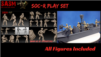 28mm Modern US Seal SOC-R Play Set