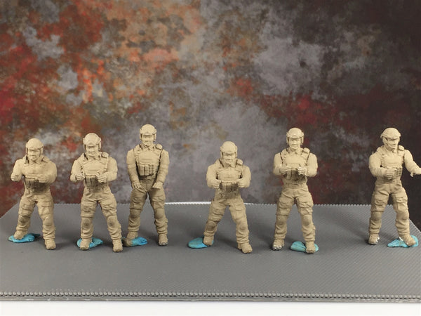 28mm Modern US Operator Technical Crew