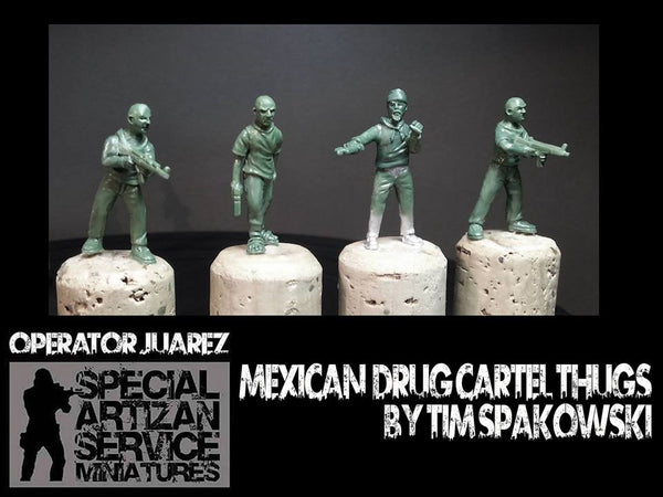 28mm Mexican Cartel Members