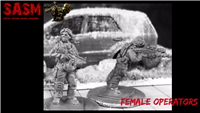 28mm Modern Female Operators