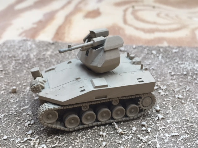 28mm Russian RAS-01G Unmanned Combat Ground Vehicle