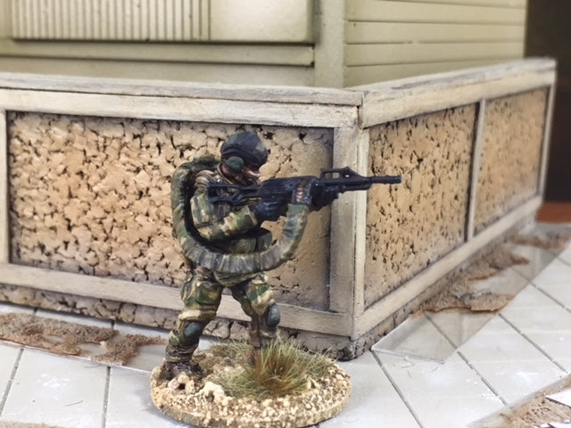 28mm Modern Spetsnaz with Scorpion Backpack