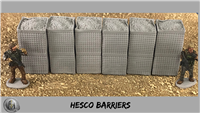 28mm Modern Hesco Barriers 6 stacked