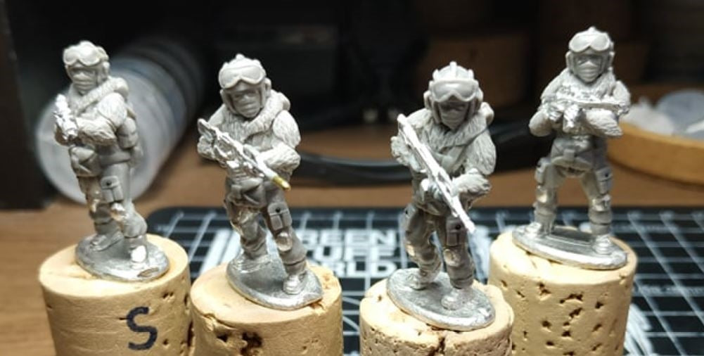 28mm Naga Winter Fighters 1
