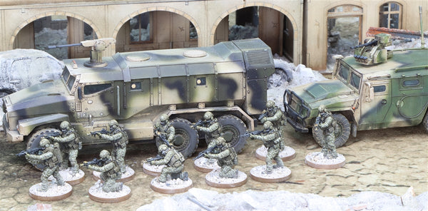 28mm Ural Typhoon and Spetsnaz bundle