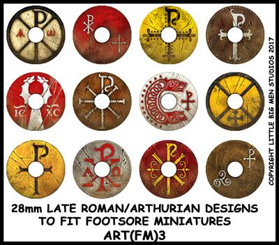 Late Roman/Arthurian Shield Transfer ART(FM)3