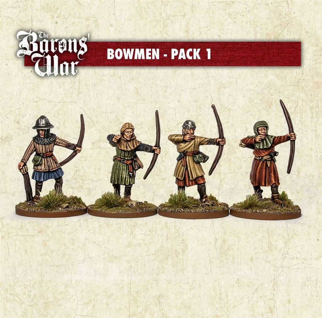 28mm Footsore Miniatures Bowman 1