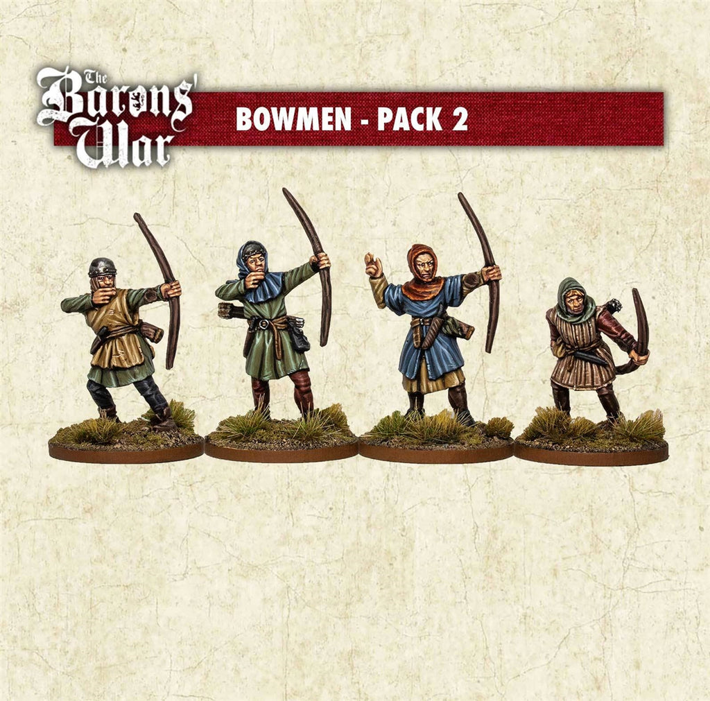 28mm Footsore Miniatures Bowman 2
