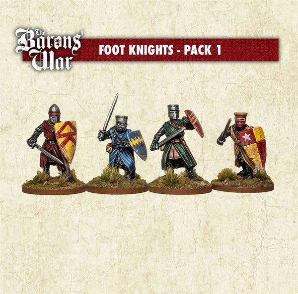 28mm Footsore Miniatures Foot Knights 1