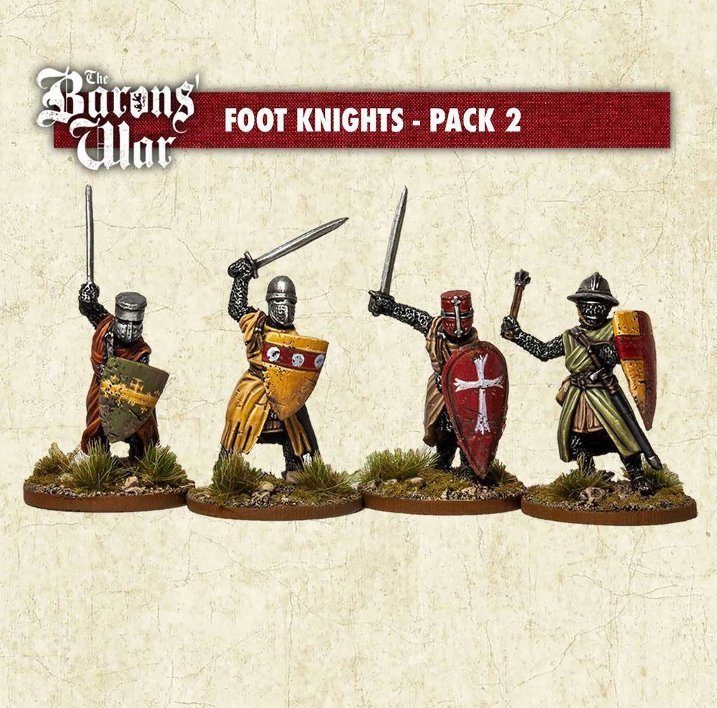 28mm Footsore Miniatures Foot Knights 2