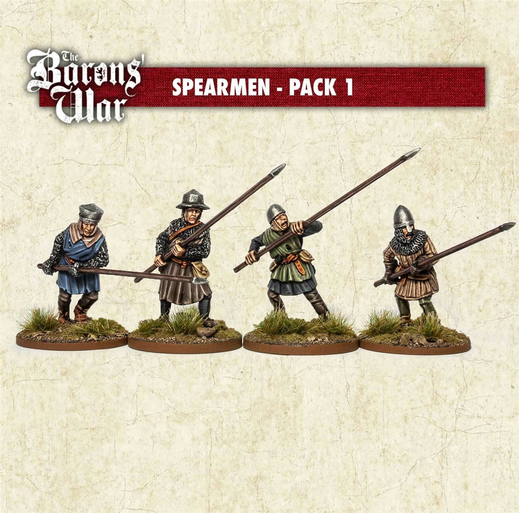 28mm Footsore Miniatures Spearmen 1