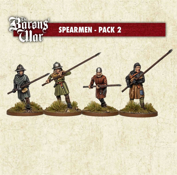 28mm Footsore Miniatures Spearmen 2