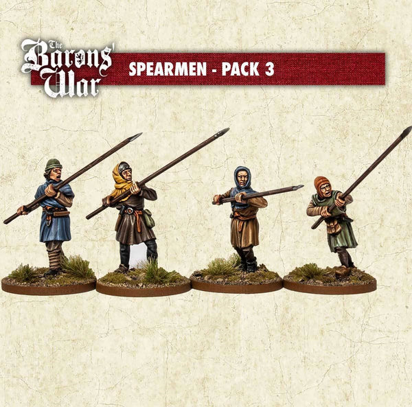 28mm Footsore Miniatures Spearmen 3