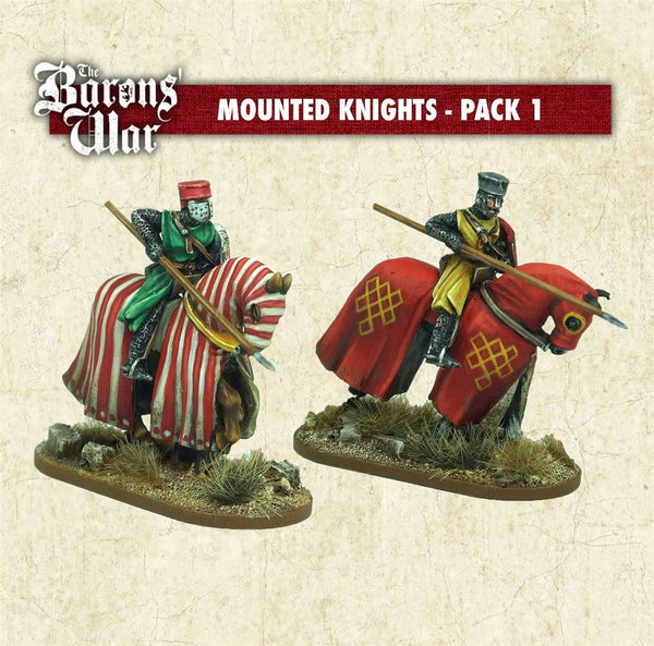 28mm Footsore Miniatures Mounted Knights 1