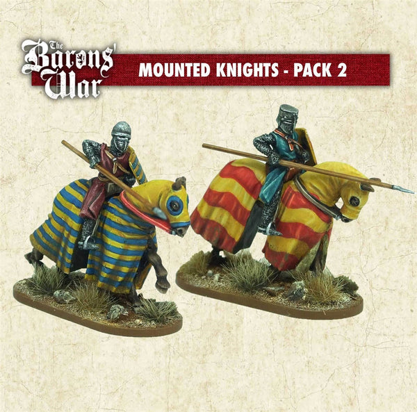 28mm Footsore Miniatures Mounted Knights 2