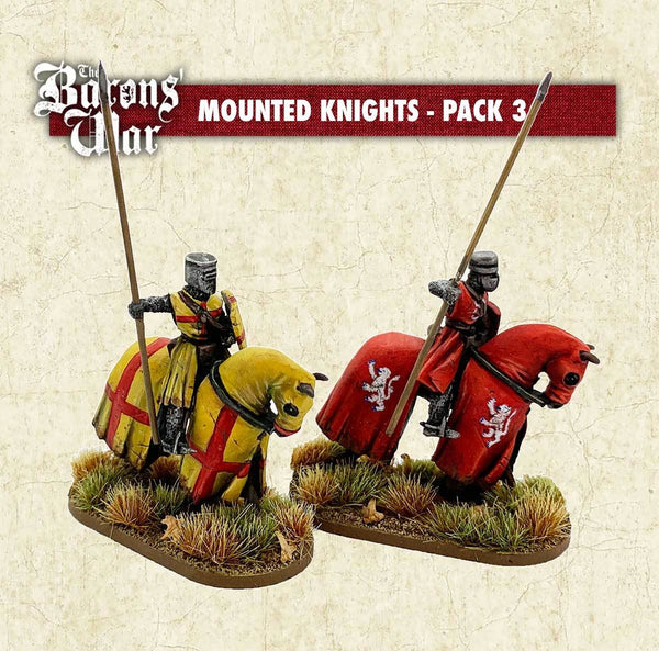 28mm Footsore Miniatures Mounted Knights 3