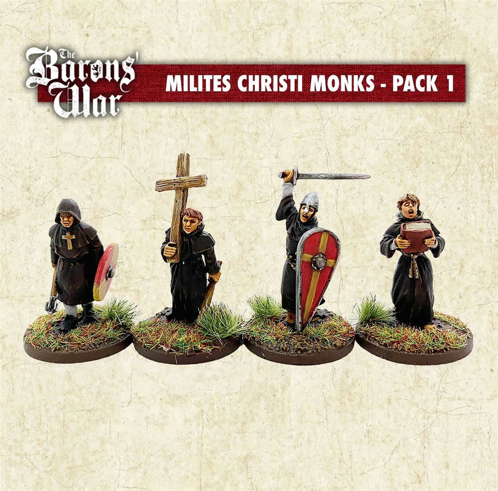 28mm Footsore Miniatures Milites Christi Monks 1