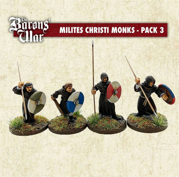 28mm Footsore Miniatures  Milites Christi Monks 3