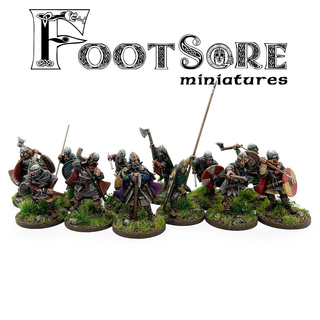 Footsore Miniatures Late Saxon Huscarls