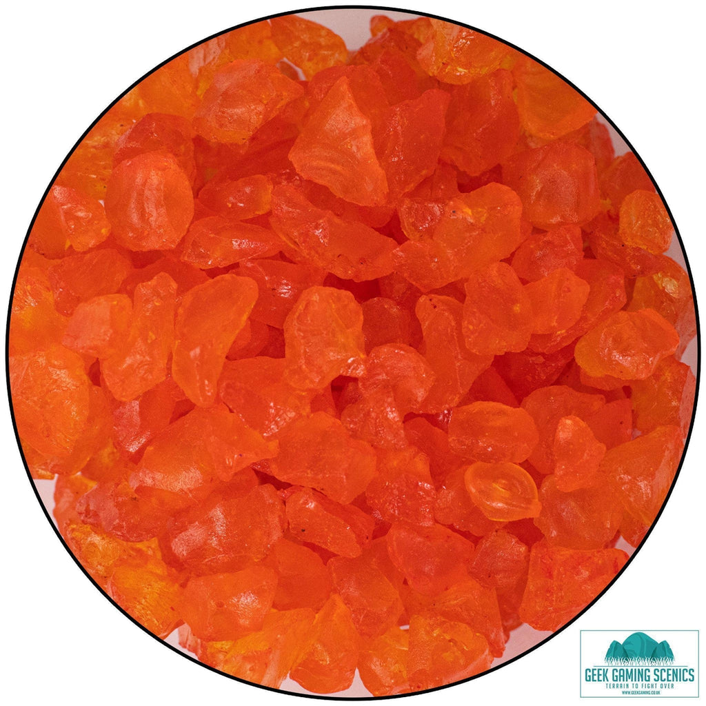 Orange Shards 4-10mm