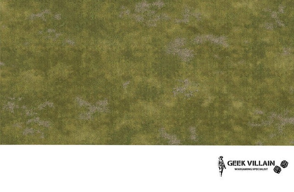 Geek Villain Wargaming Battle Mat 6x4 Grass