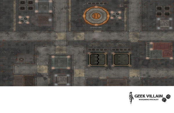 Geek Villain Wargaming Battle Mat 6x4 Cargo