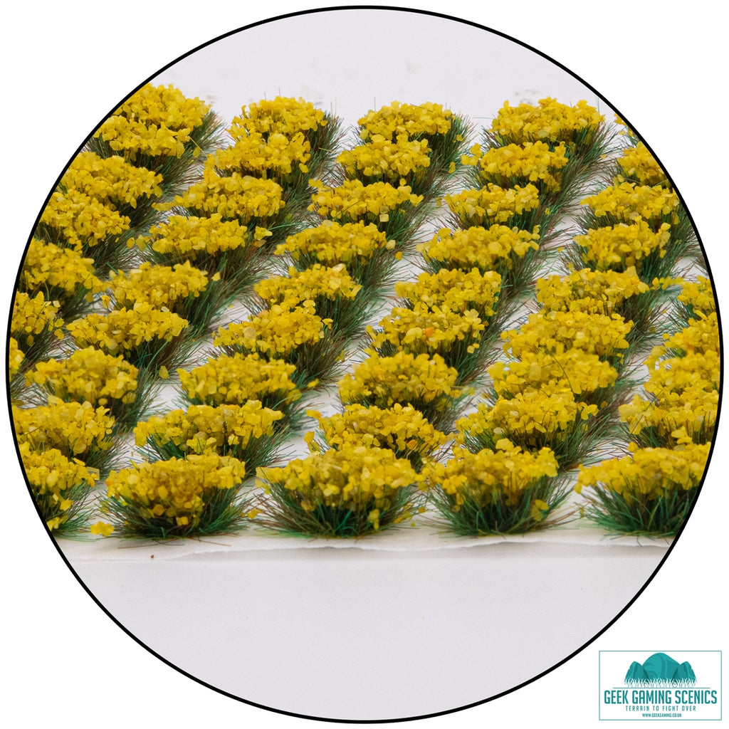 Lukes APS Daffodil 6mm Self Adhesive Static Grass Tufts x 100