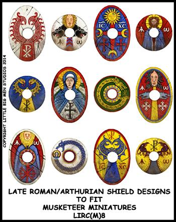 Late Roman/Arthurian Shield Transfer LIRC(FM)8
