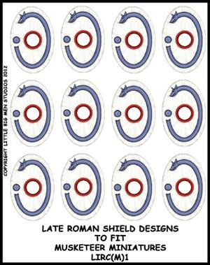 Late Roman Shield Transfer LIRC(FM)1