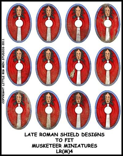 Late Roman Shield Transfer LR(FM)4