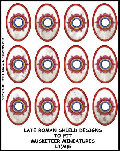 Late Roman Shield Transfer LR(FM)5