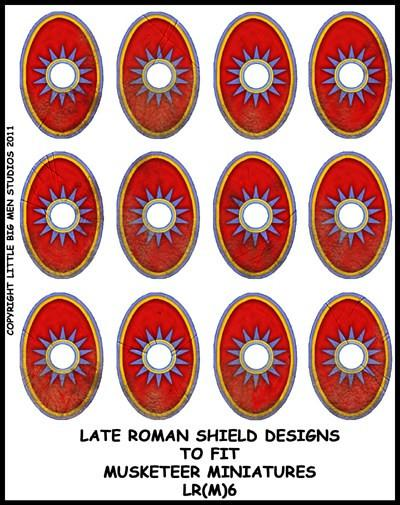 Late Roman Shield Transfer LR(FM)6