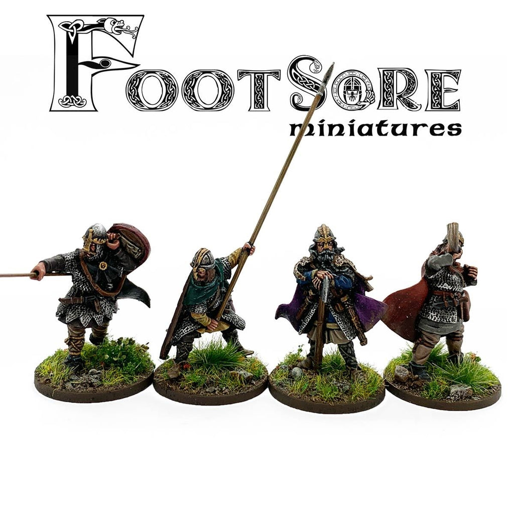 Footsore Miniatures Late Saxon Huscarls Command