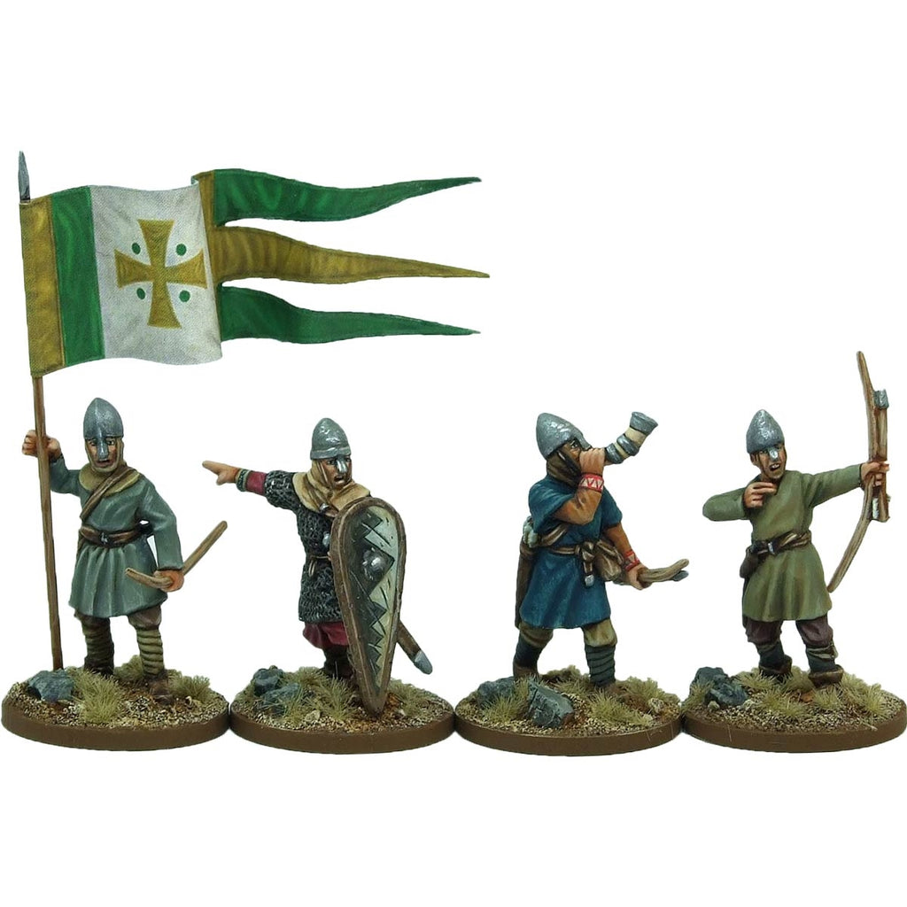 28mm  Norman Archer Command
