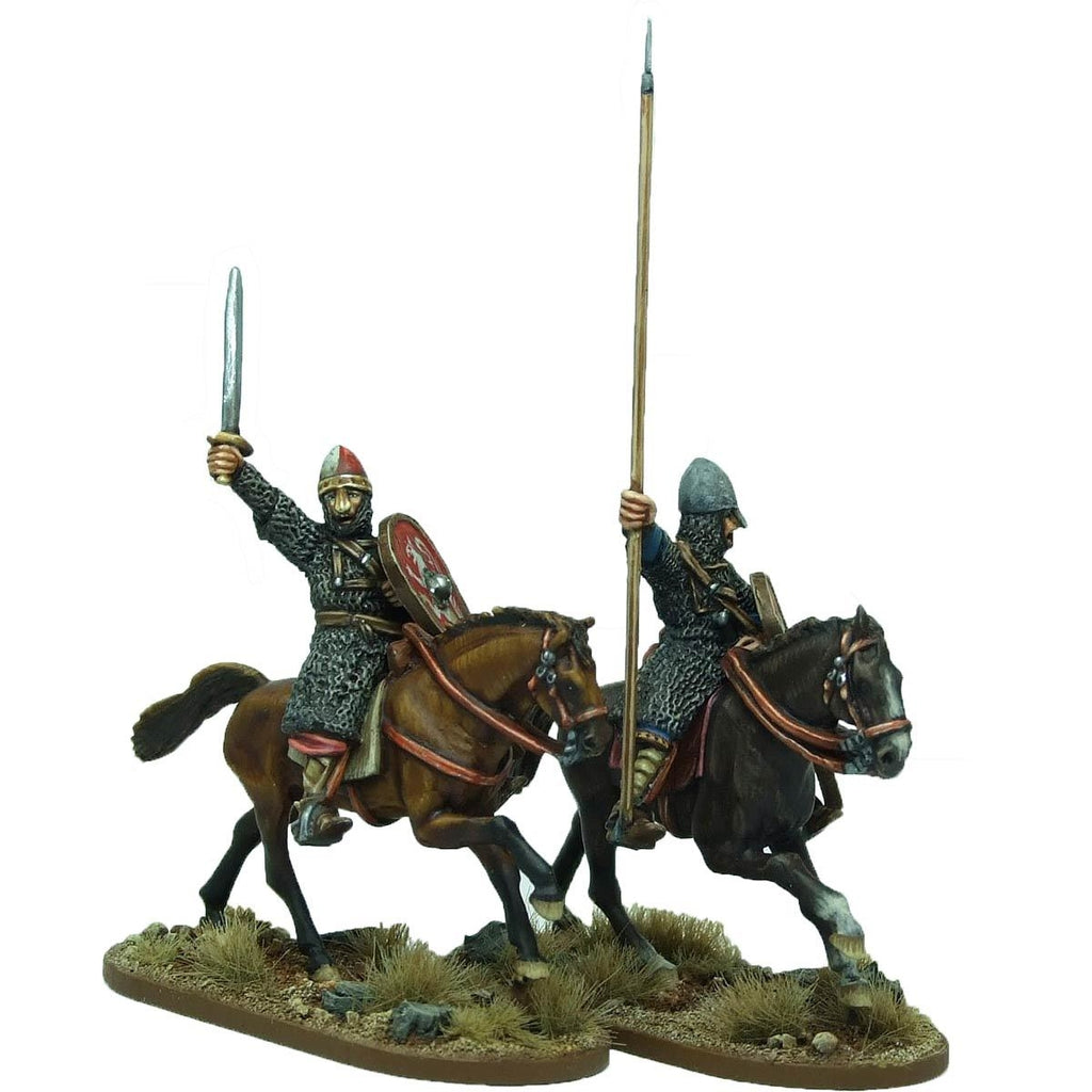 28mm  Mounted Norman Warlord and Bannerman