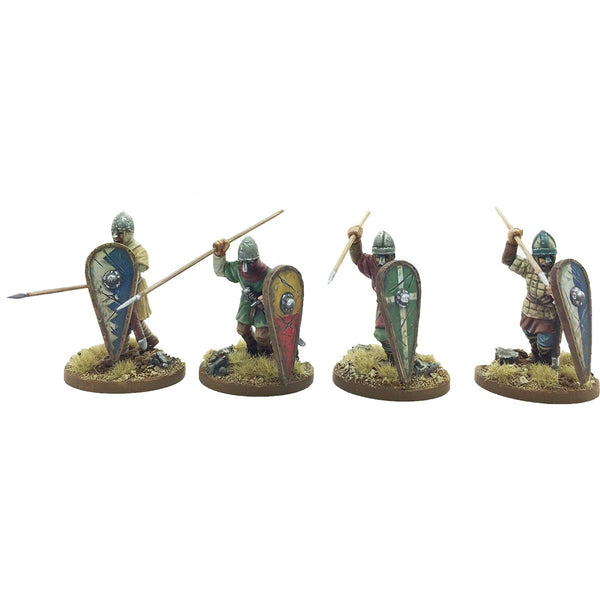 28mm  Unarmoured Norman Infantry 2