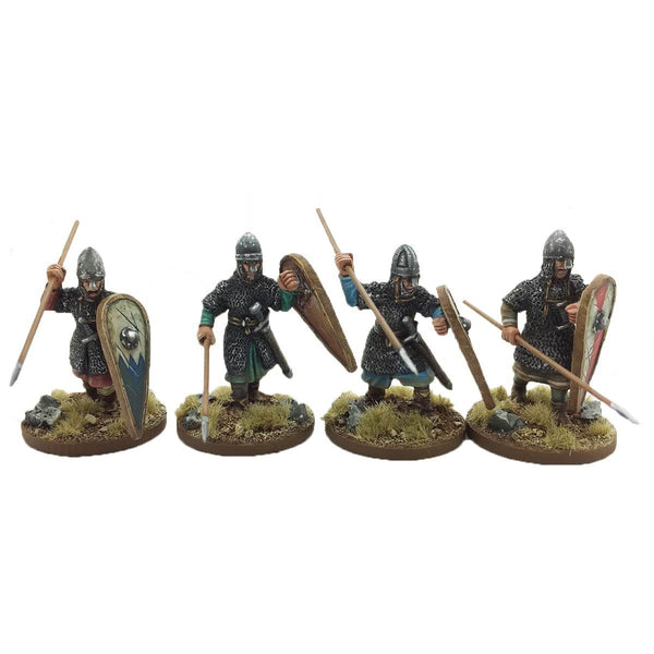28mm  Armoured Norman Infantry 1