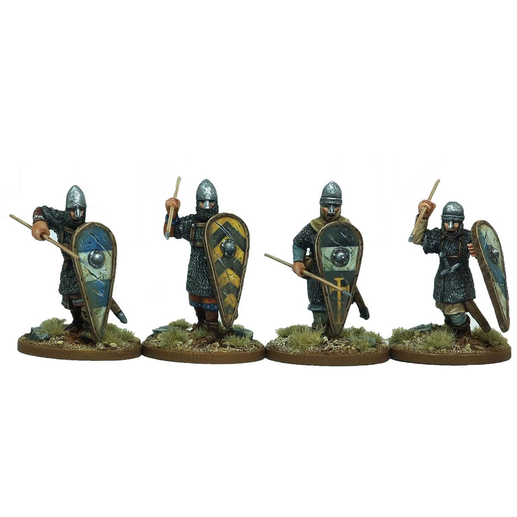 28mm  Armoured Norman Infantry 2