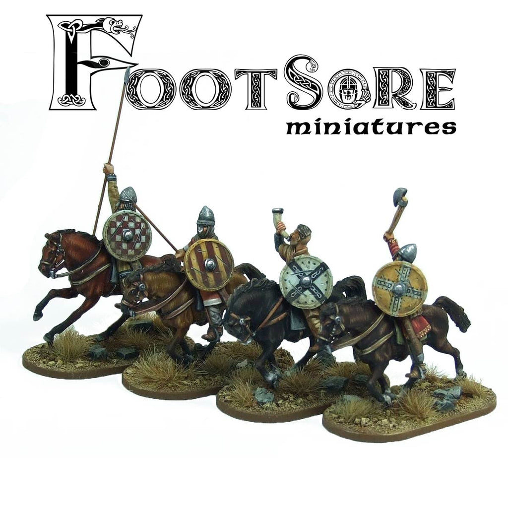 28mm  Breton Cavalrymen Command