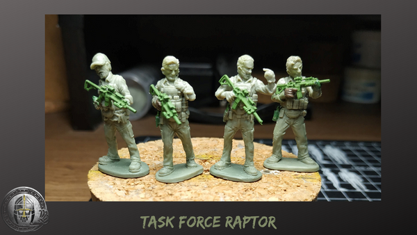 28mm Modern Task Force Raptor