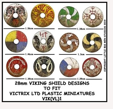 Viking Shield Designs VIK 1
