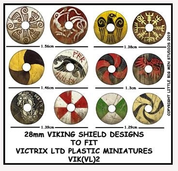 Viking Shield Designs VIK 2