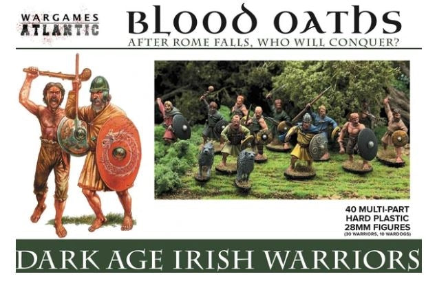 28mm Wargames Atlantic Dark Age Irish Warriors