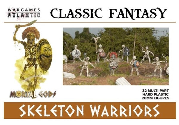 28mm Wargames Atlantic Skeleton Infantry