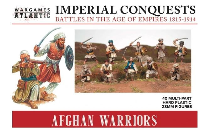 28mm Wargames Atlantic Afghan Warriors