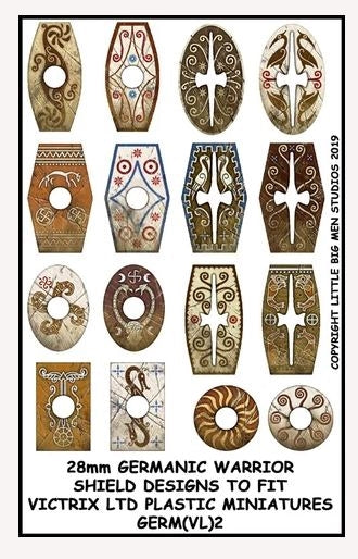 Germanic Warriors Shield Designs GERM 2
