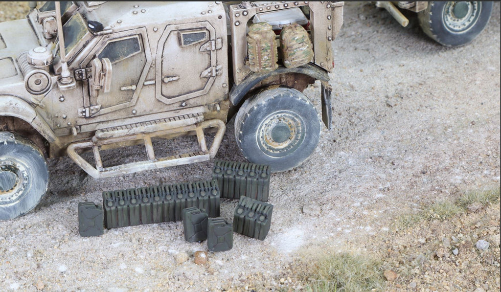 28mm Modern Jerry Cans