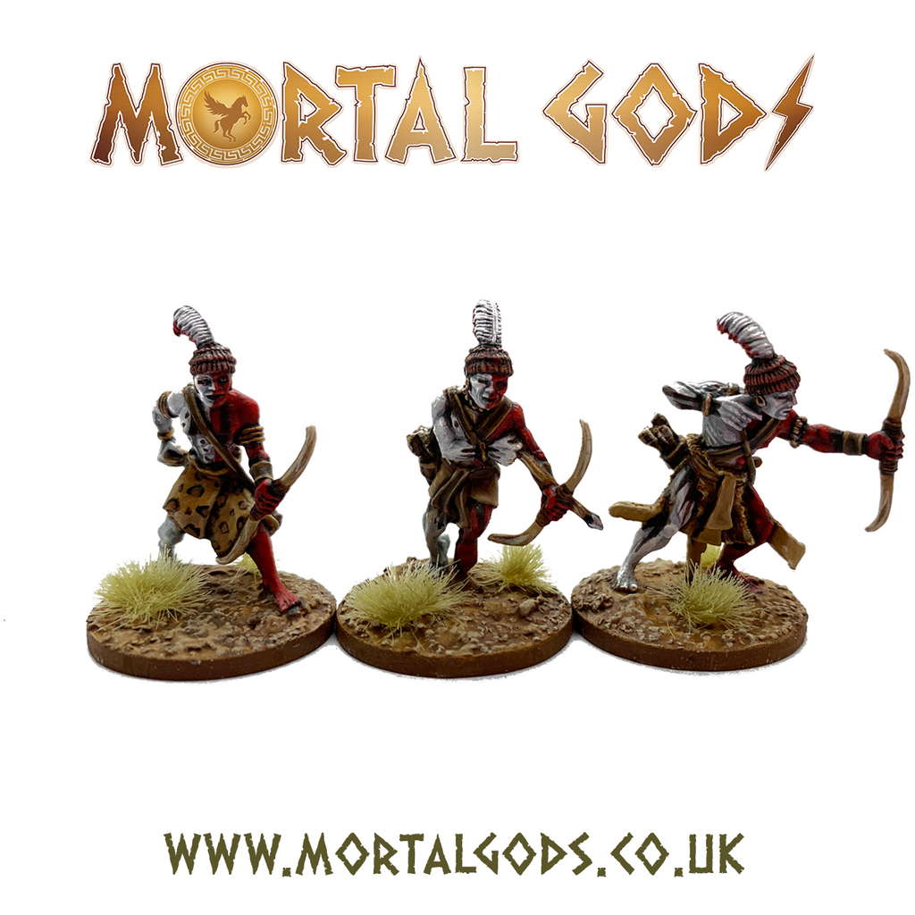 28mm Mortal Gods  Kushite Archers