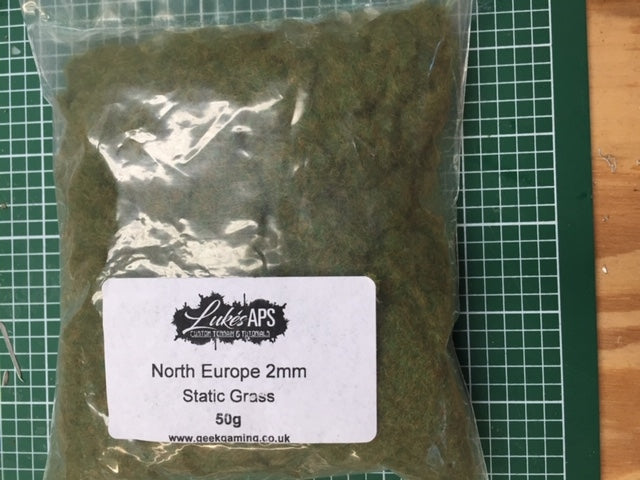Lukes APS 2mm North Europe Static Grass 50g