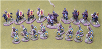 Late Roman Skirmish Warband for Saga